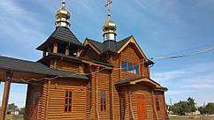 Церкви из оцилиндрованного бревна