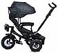 Велосипед трехколесный TILLY Cayman с пультом T-381/2 Black, фото 2