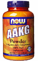 Аргинин альфа кетоглутарат, Now Foods, AAKG Pure Powder, 200 грам