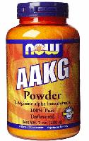 Аргинин альфа кетоглутарат, Now Foods, AAKG Pure Powder, 200 грам