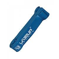 Резинка для подтягиваний LiveUp LATEX LOOP, латекс, 208х0,45х4.5см., голубой (LS3650-2080Hb)