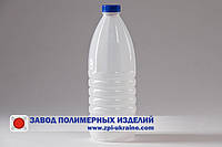 Бутылка ПЭТ молочная , 2 литра . Два типа дизайна.