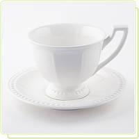 Фарфоровая чайная чашка и блюдце Venice MR10026-33/34