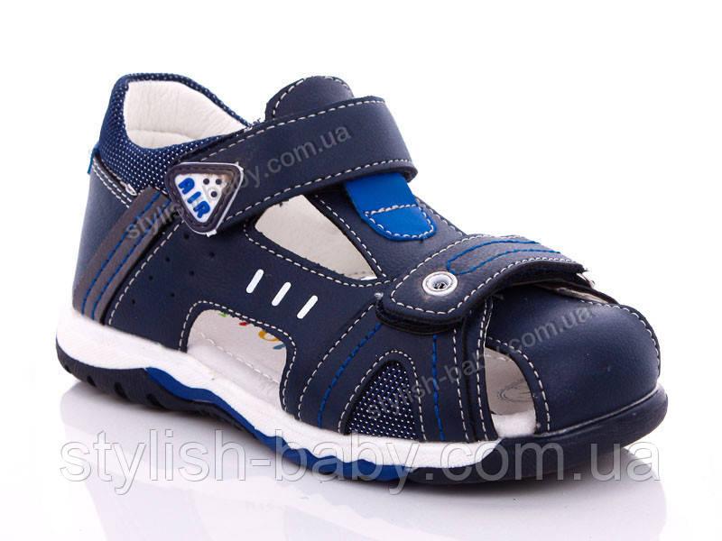 Дитяче літнє взуття оптом. Дитячі босоніжки бренду Y. TOP для хлопчиків (рр. з 26 по 31)