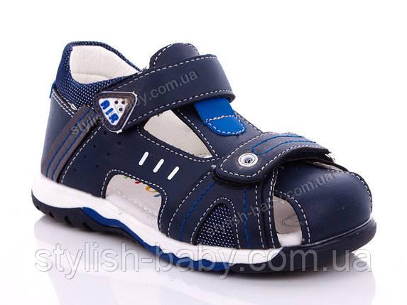 Дитяче літнє взуття оптом. Дитячі босоніжки бренду Y. TOP для хлопчиків (рр. з 26 по 31), фото 2