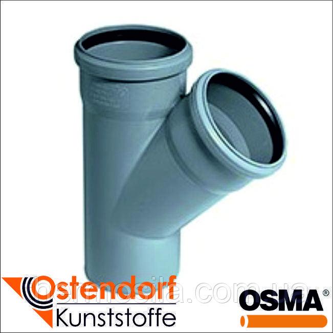 Тройник 45* d 50/50 (HTEA внутр), Ostendorf-OSMA