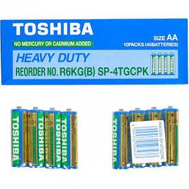Батарейка Toshiba R6 KD SP-4 TGTE АА        T-013336
