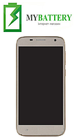 Дисплей (LCD) Ergo F502 с сенсором золотой