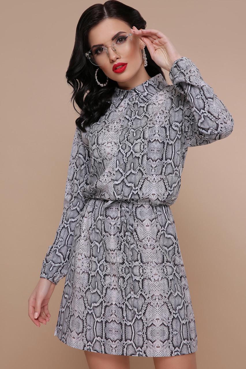 Платье Азиза питон д/р