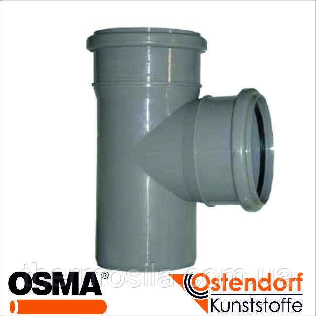 Тройник 87* d 110/110 (HTEA внутр), Ostendorf-OSMA, опт и розница