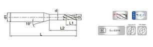Ø 1*6*4*50-4F Микрофреза твердосплавная концевая (60 HRC), фото 2