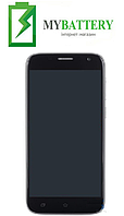 Дисплей (LCD) Ergo F502 с сенсором черный