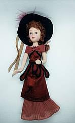 Кукла фарфоровая Дамы эпохи (DeAgostini) Эмма Бовари (Гюстав Флобер Госпожа Бовари)