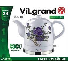 Керамический электрочайник ViLgrand VC412F