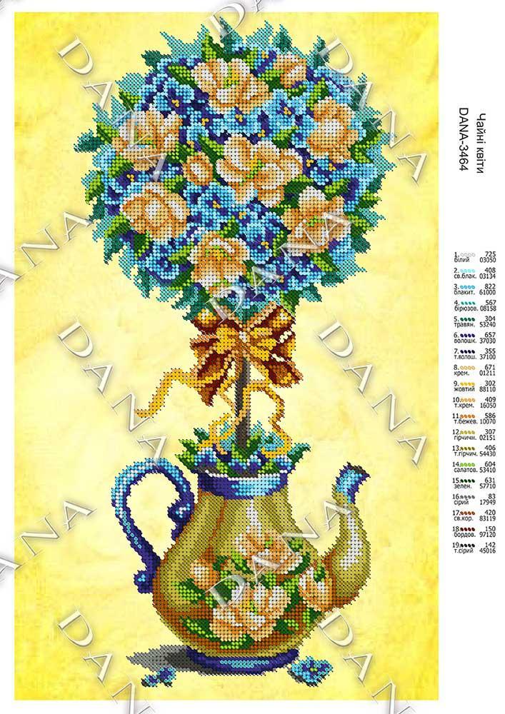 Чайні квіти