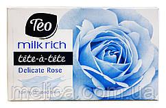 Мыло Tete-a-tete Milk rich Delicate Rose - 100 г.