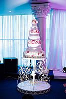 Кованный стол для торта