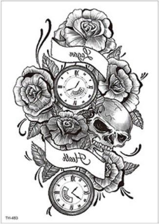 Временная татуировка для мужчин и женщин. Купить тату недорого в интернет магазине Украина.