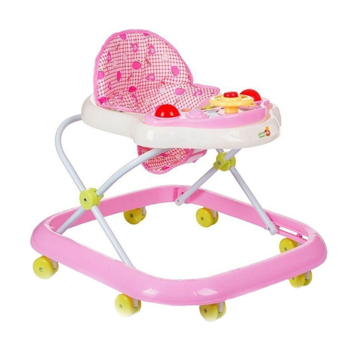 Ходунки Action, розовые, Babyhit (21 735)