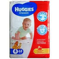 Подгузники Huggies Classic №4 7-18 кг (68 шт) (хаггис классик)