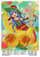 Схема для вышивки Фея фруктов