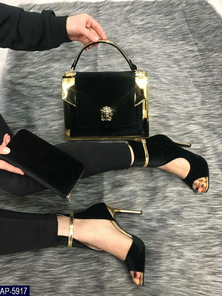 Сумка женская Versace Турция Бархат Высокое качество под заказ 5-10 дней