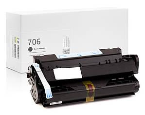 Картридж Canon 706 (чёрный) совместимый, стандартный ресурс (5.000 копий), аналог 3480B006 от Gravitone