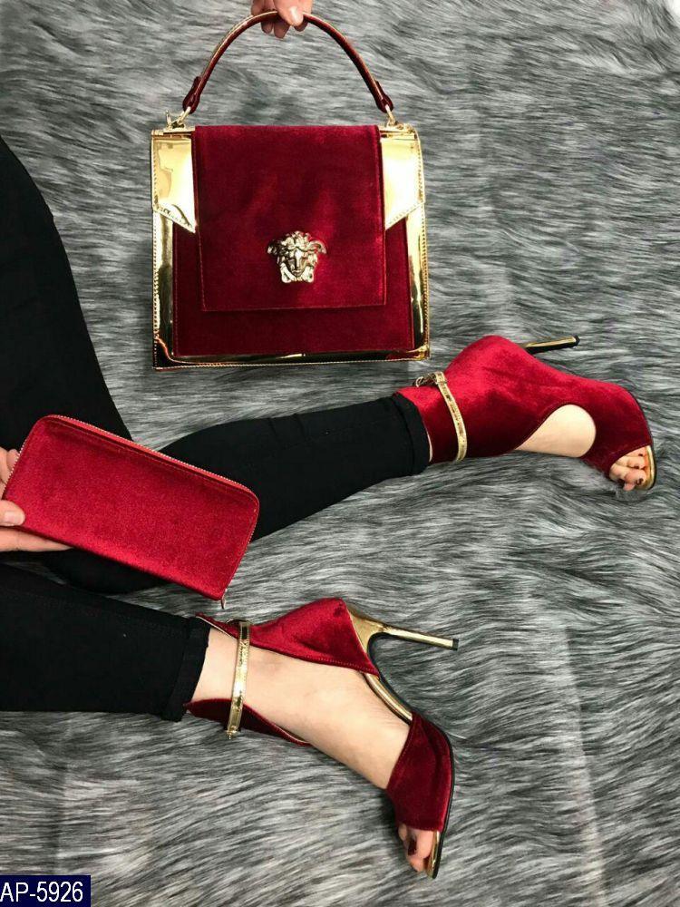 Кошелек Versace Турция Бархат Высокое качество под заказ 5-10 дней