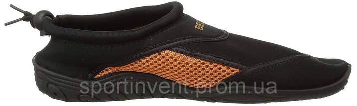 Аквашузы, обувь для серфинга и плавания BECO 9217 03 чёрный/оранжевый, фото 2