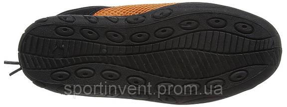 Аквашузы, коралки, обувь для дайвинга, серфинга и плавания BECO 9217 03, чёрный/оранжевый, фото 2