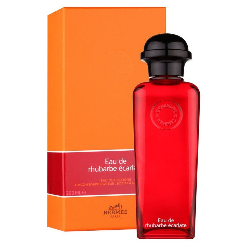 Hermes Eau de Rhubarbe Ecarlate 100ml оригинальная парфюмерия