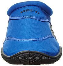 Аквашузы, коралки, обувь для дайвинга, серфинга и плавания BECO 9217 60, синий/чёрный, фото 3