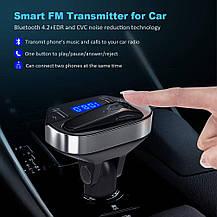 FM Модулятор автомобильный  Bluetooth с наушником LUTU , фото 2