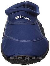 Аквашузы, коралки, взуття для дайвінгу, серфінгу і плавання BECO 9217 7, темно-синій, фото 3