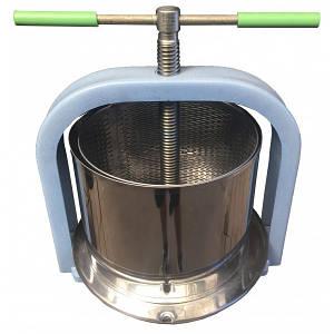 """Ручной пресс для сока """" Лан """"  на 15 литров , нержавеющая сталь"""
