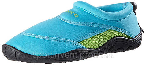 Аквашузы, коралки, взуття для дайвінгу, серфінгу і плавання BECO 9217 668, бірюзово/зелений, фото 3