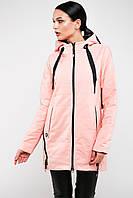 Демисезонная женская куртка со съемным капюшоном Китай 6012, фото 1