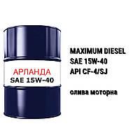 SAE 15W-40 олива моторна API CF-4/SG