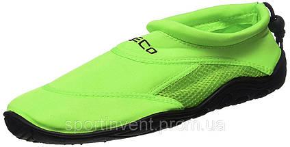 Аквашузы, обувь для серфинга и плавания BECO 9217 8, зеленые, фото 2