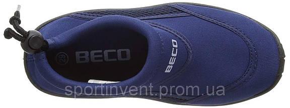 Аквашузы, обувь для серфинга и плавания, детские BECO 92171 7, тёмно-синий, фото 3