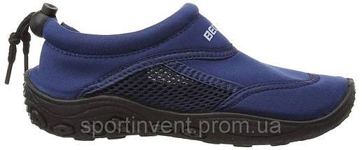 Аквашузы, обувь для серфинга и плавания, детские BECO 92171 7, тёмно-синий, фото 2