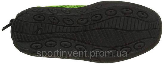 Аквашузы, коралки, обувь для дайвинга, серфинга и плавания, детские BECO 92171 58, красный/зелёный, фото 2