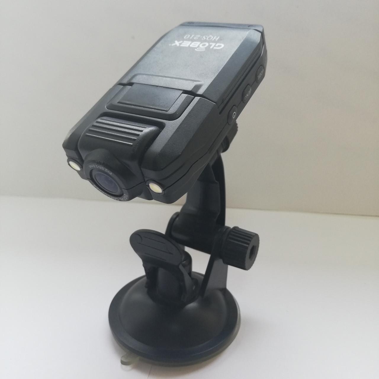 Видеорегистратор Globex HQS-210 Б/У (для ремонта или на запчасти)