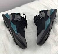 Adidas Y-3 Qasa x Kaiwa Chucky black charcoals | кроссовки мужские
