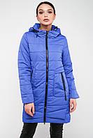 Длинная демисезонная женская куртка с капюшоном Китай 6013, фото 1