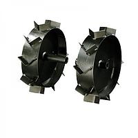 Грунтозацепи ( колеса залізні з грунтозацепами ) до культиваторів Szentkiraly, Robix Ø 330 мм.