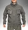 Тактическая куртка Helikon Tex ® COUGAR QSA + HID Soft Shell (серая), фото 5
