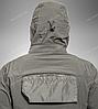 Тактическая куртка Helikon Tex ® COUGAR QSA + HID Soft Shell (серая), фото 7