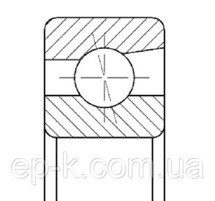 Подшипник 2-46205 Л (7205 АСМА/Р2), фото 2
