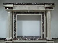Мраморный камин портал, камин из мрамора, Киев